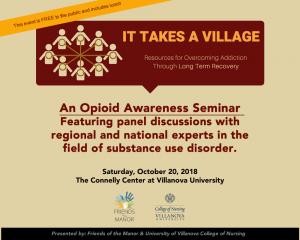 opioid symposium villanova